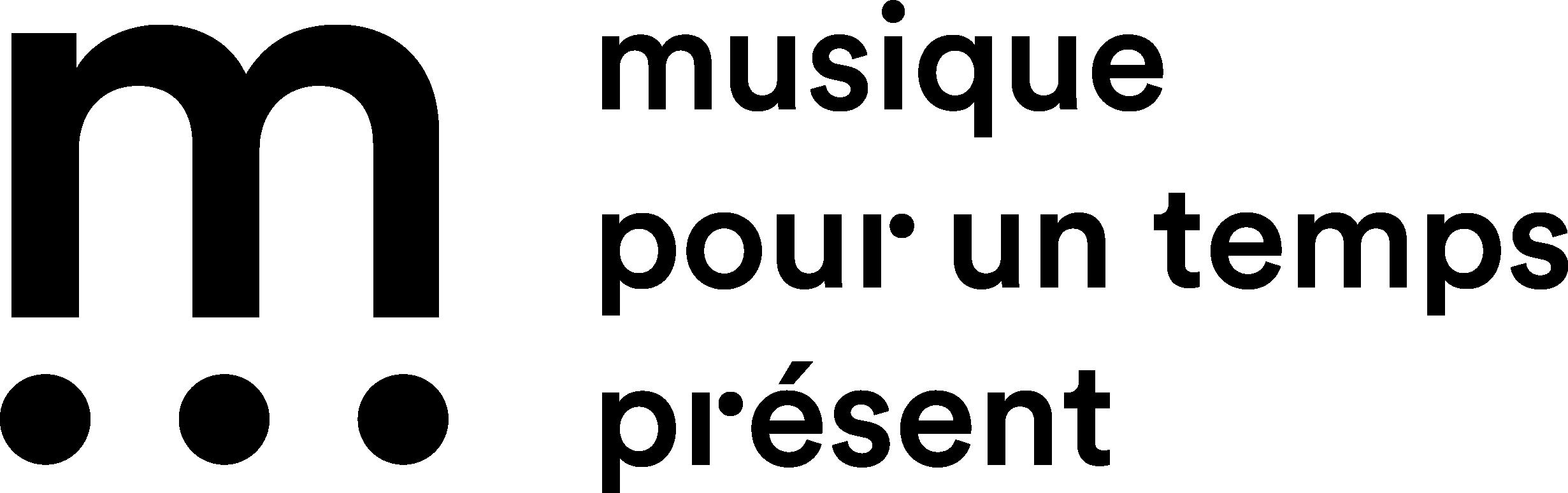 Logo – Musique pour un temps présent