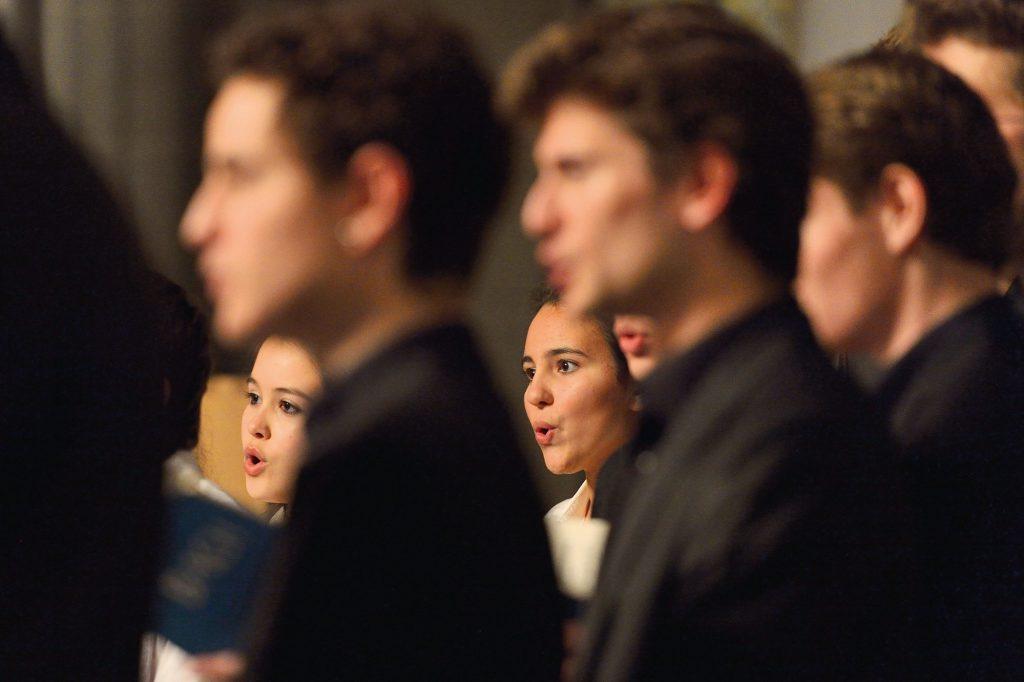 Vocalistes du Conservatoire de Lausanne © Olivier Wavre